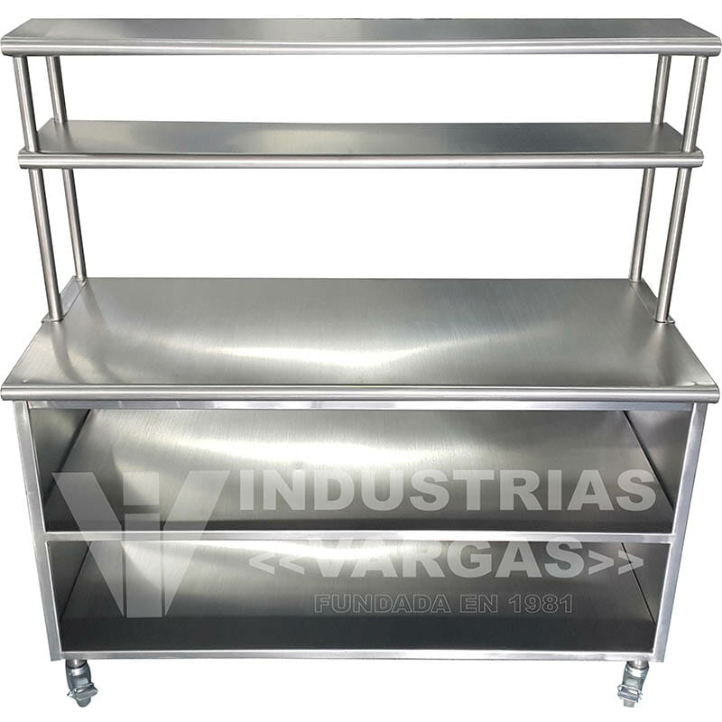 Mesas de trabajo y mesas de lavado - Industrias Vargas
